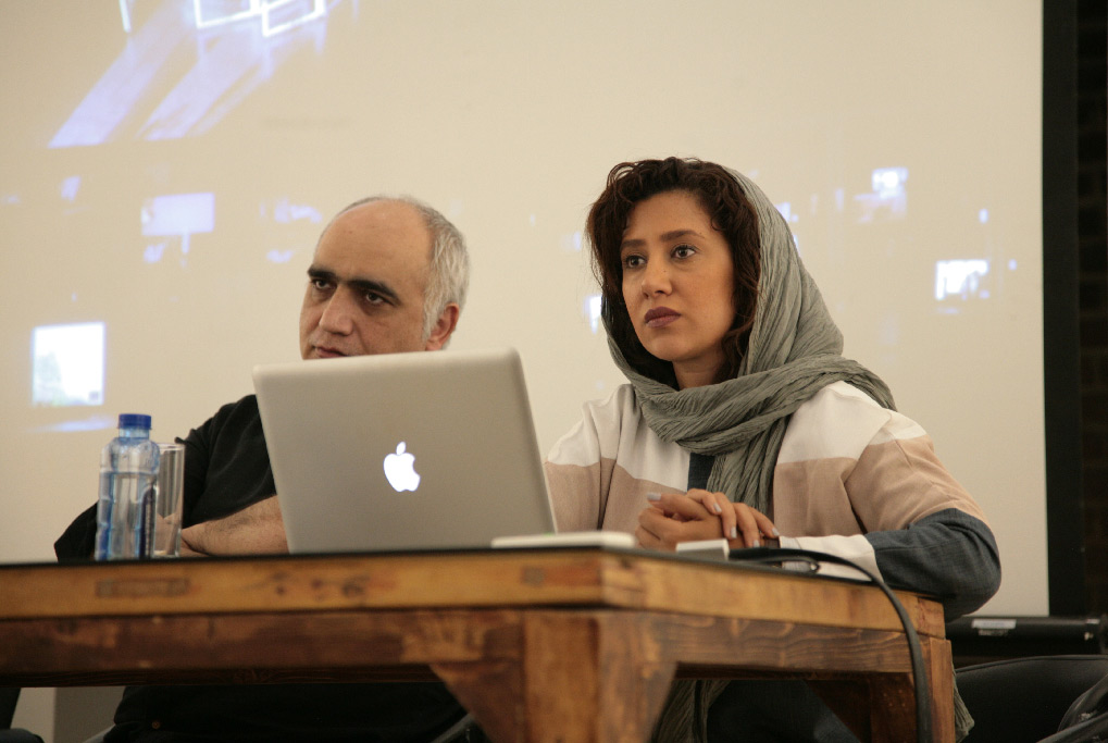 Video in Theater | Pegah Tabassinejad and Hessam Nourani