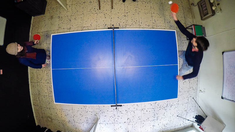 Knockout Tournament: Conversations over a Ping-pong Table